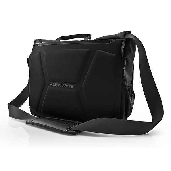 "Mobile Edge Alienware Vindicator Carrying Case (Messenger) for 17.1"" Notebook - Black"