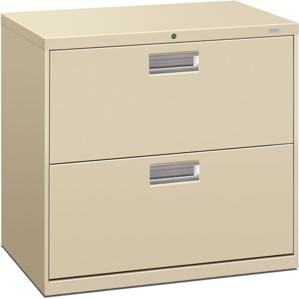 HON Brigade 600 Series 2-Drawer Lateral File Cabinet