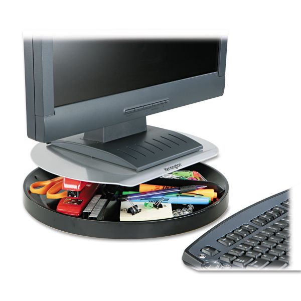 Kensington SmartFit Spin Monitor Stand w Storage