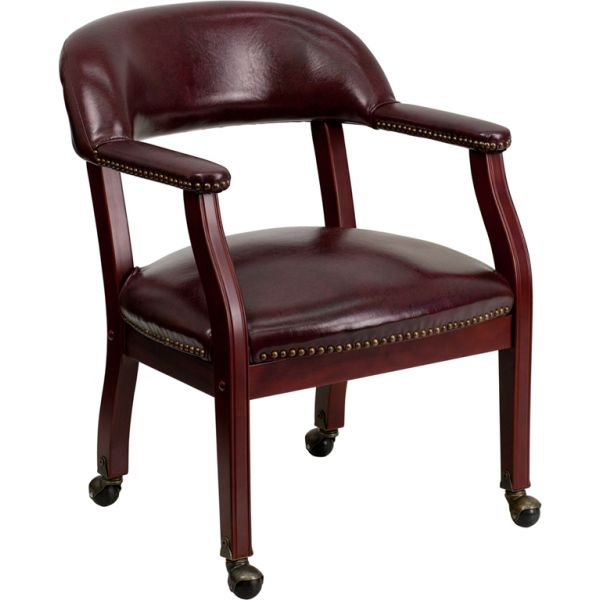Flash Furniture Luxurious Conference Chair with Casters