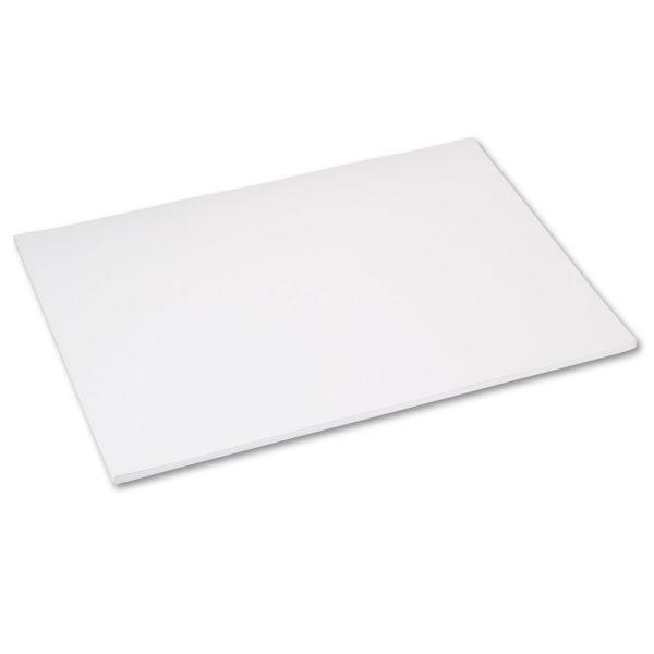 Tru-Ray Sulphite White Construction Paper