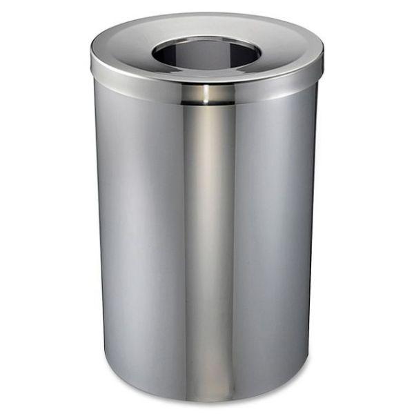 Genuine Joe 30 Gal Stainless Steel Trash Receptacle