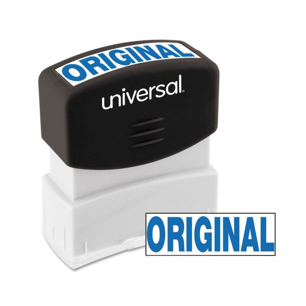 Universal Message Stamp, ORIGINAL, Pre-Inked One-Color, Blue