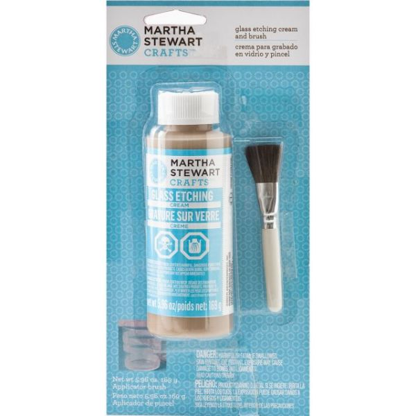 Martha Stewart Glass Etching Cream
