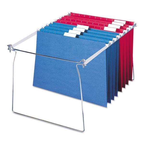 "Smead Hanging Folder Frame, Letter Size, 23-27"" Long, Steel, Two Per Pack"