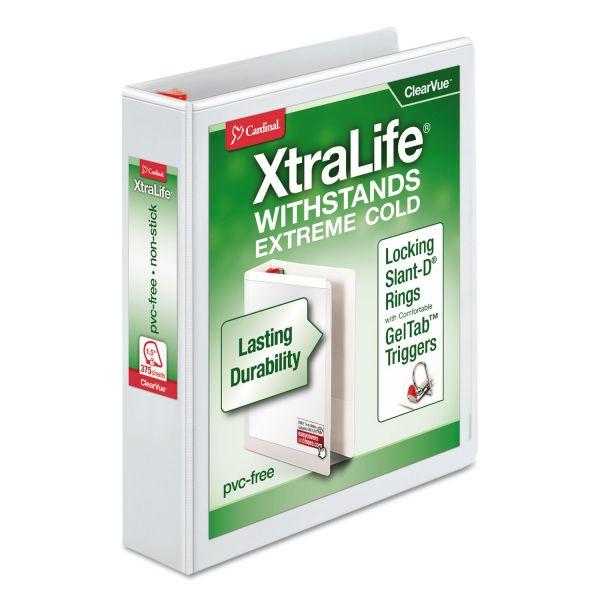 "Cardinal XtraLife 1 1/2"" 3-Ring View Binder"