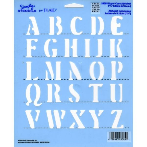 "Simply Stencil 8""X10"""