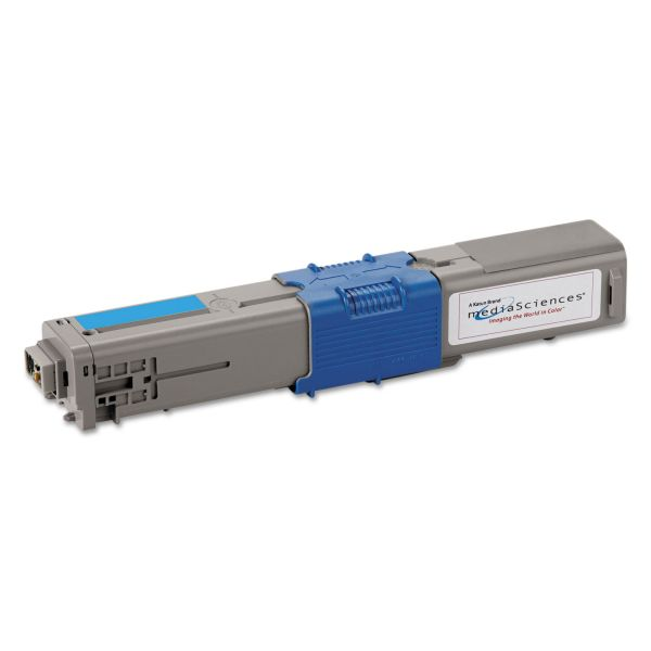 Media Sciences Remanufactured Oki 44469703 Toner Cartridge