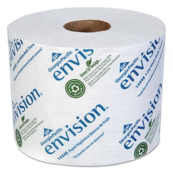 Envision High-Capacity 1 Ply Toilet Paper