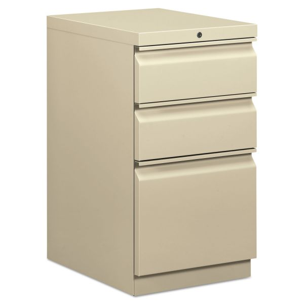 basyx by HON 3-Drawer Mobile File Cabinet