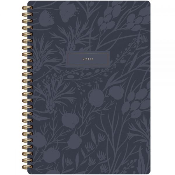 "Botanical Composition Spiral-Bound Notebook 7""X9.5"""