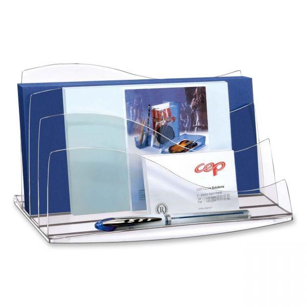 CEP 3-Step Ice Desk Accessories Letter Sorter