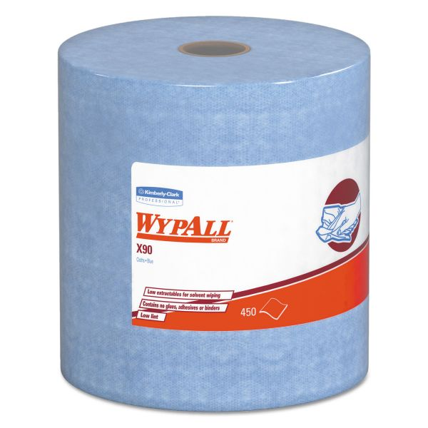 WypAll X90 Jumbo Roll Wipers