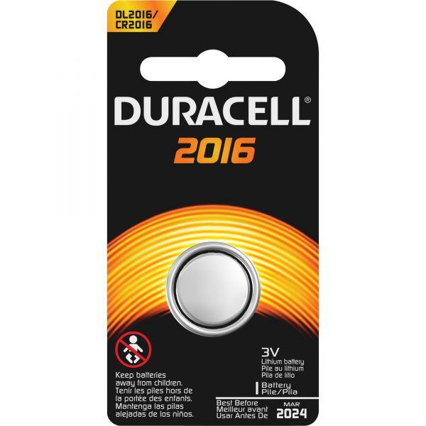 Duracell Duralock Power Preserve 2016 Battery