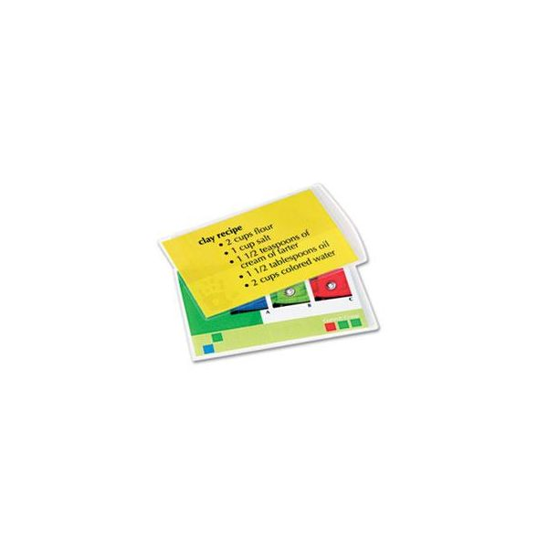 Fellowes Index Card Laminating Pouches