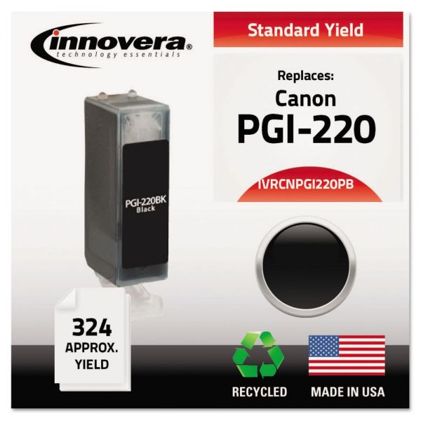 Innovera Remanufactured Canon PGI-220 Ink Cartridge