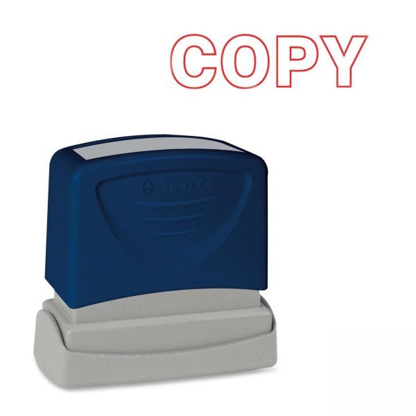 Sparco COPY Red Title Stamp