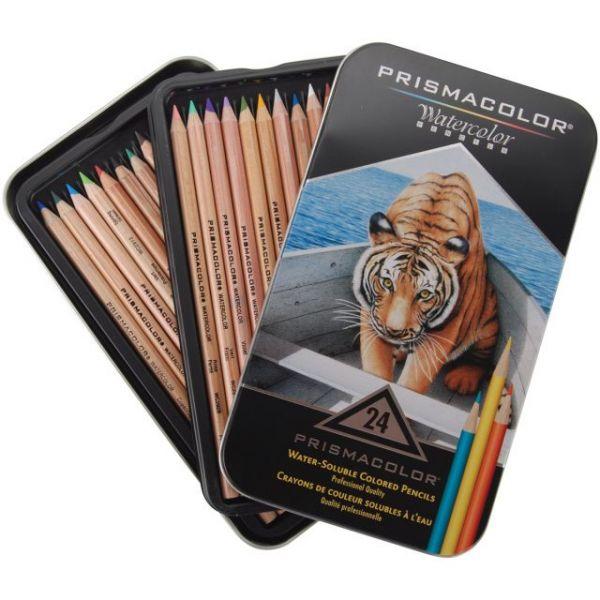 Prismacolor Watercolor Pencils 24/Pkg
