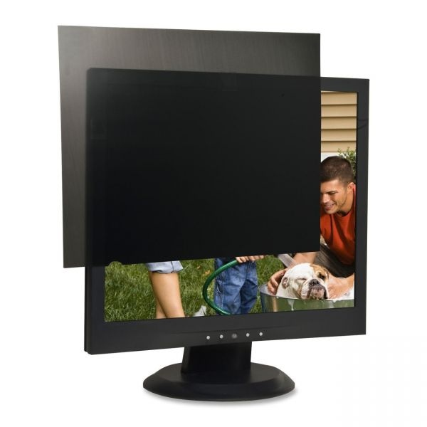 """Compucessory 17"""" LCD Monitor Privacy Filter Black"""