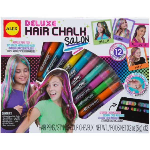 ALEX Toys Spa Deluxe Hair Chalk Salon Craft Kit