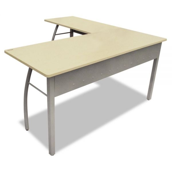 Linea Italia Trento Line L-Shaped Office Desk