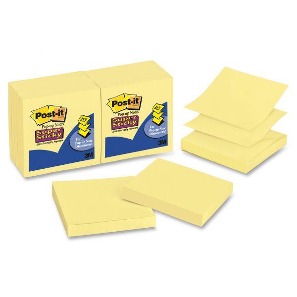 "Post-it 3"" x 3"" Super Sticky Pop-Up Notes"