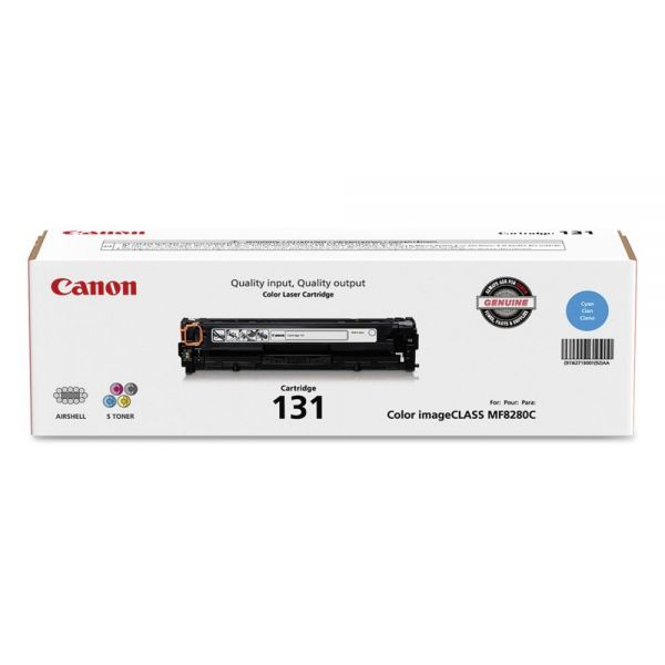 Canon CRG-131 Cyan Toner Cartridge (6271B001)