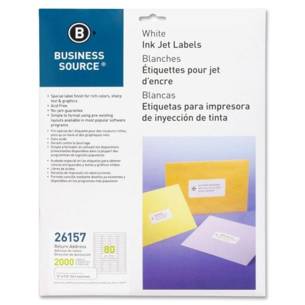 Business Source Return Address Labels