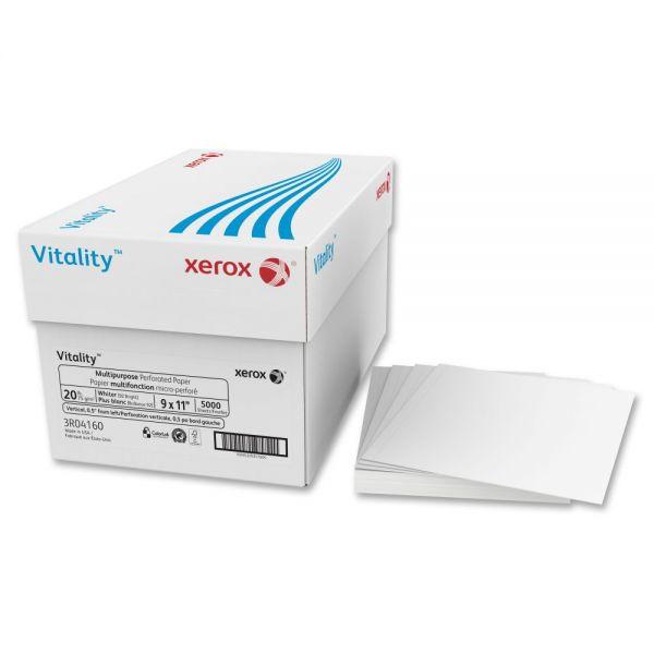 Xerox Vitality Multipurpose Perforated Custom Cut Paper