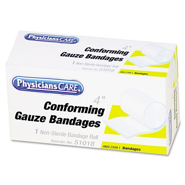 PhysiciansCare Non-Sterile Conforming Gauze Bandages