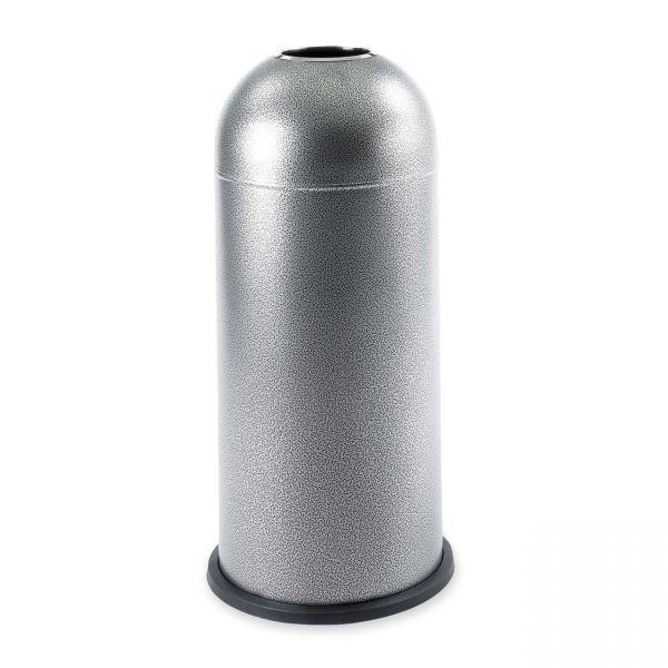 Safco Open Top Dome 15 Gallon Trash Can
