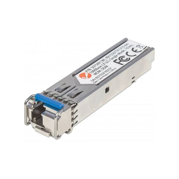 Intellinet Gigabit Fiber WDM Bi-Directional SFP Optical Transceiver Module
