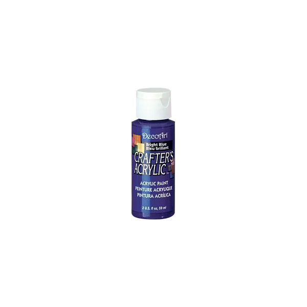 Deco Art Bright Blue Crafter's Acrylic Paint