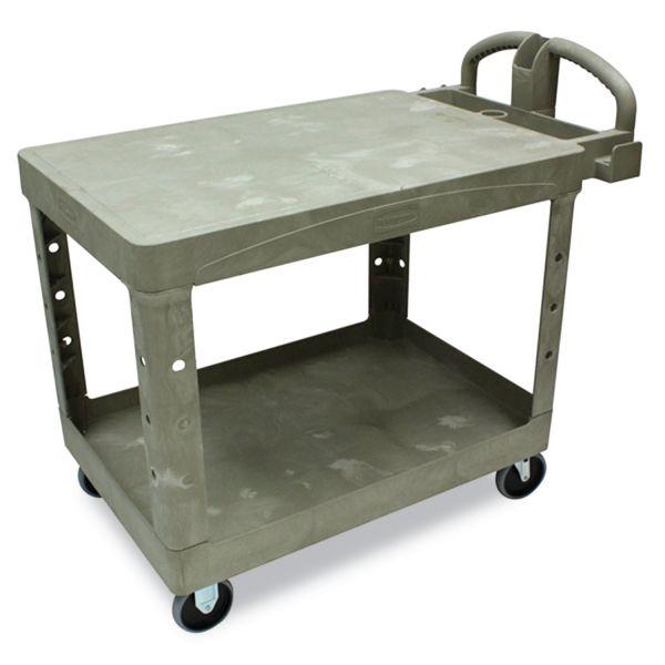 Rubbermaid Flat Shelf Utility Cart