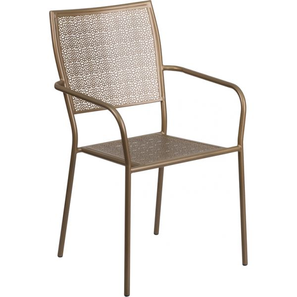 Flash Furniture Indoor-Outdoor Patio Arm Chair
