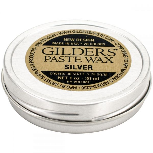 Baroque Art Silver Gilders Paste