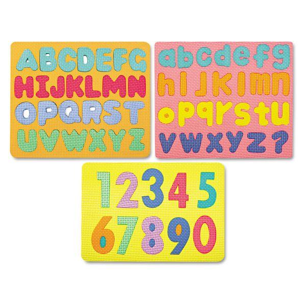 WonderFoam Magnetic Capital Letters Puzzle Set