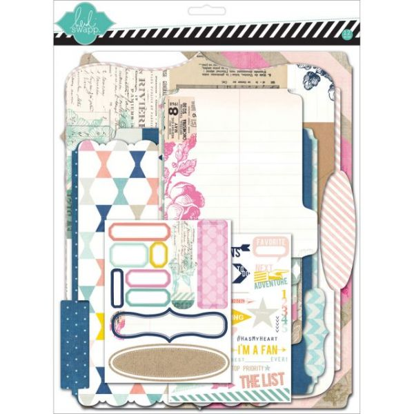 "Heidi Swapp Mixed Media Scrapbook Album Kit 9""X11.5"""