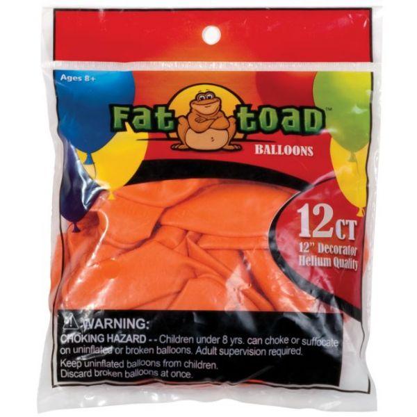 "Fat Toad Latex Balloons 12"" 12/Pkg"