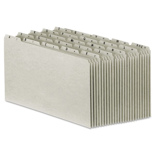Pendaflex Recycled Top Tab Alphabetic File Guides