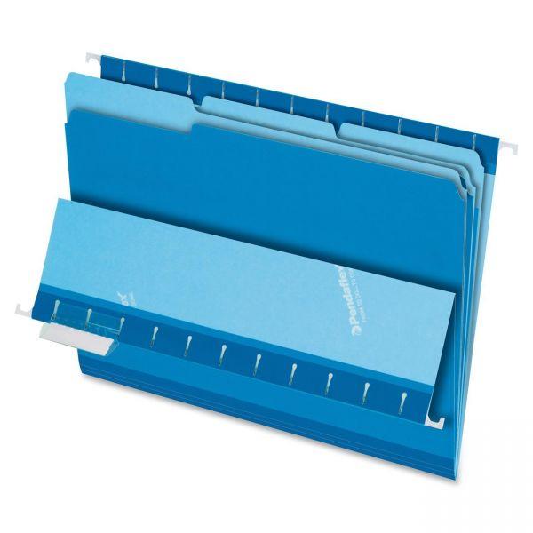 Pendaflex Blue Colored File Folders