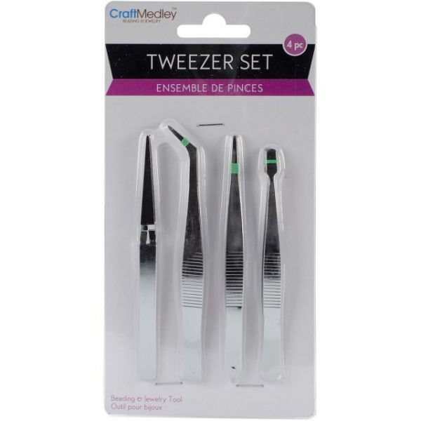 Craft Medley Tweezer Set