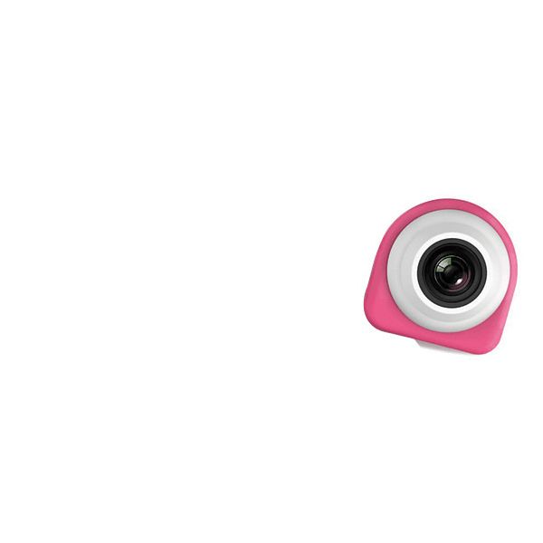 VuPoint Solutions Lifecam SDV-G857 Digital Camcorder - Full HD - Pink