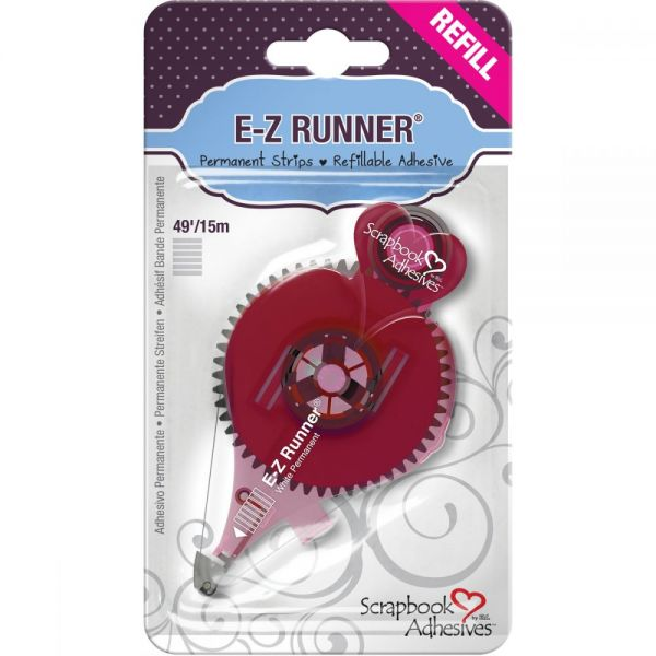 Scrapbook Adhesives E-Z Runner Strips Refill
