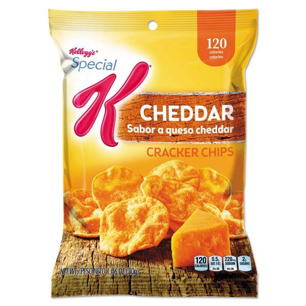 Special K&reg Cracker Chips Cheddar