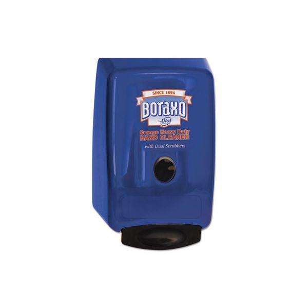 """Boraxo 2L Dispenser for Heavy Duty Hand Cleaner, Blue, 10.49""""x4.98""""x6.75"""""""