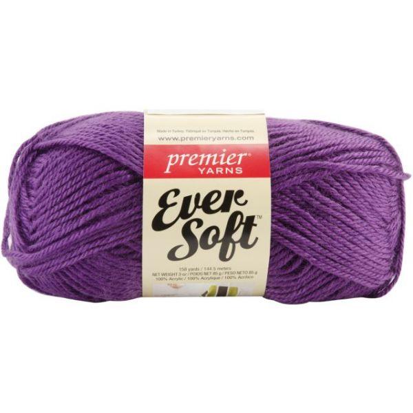 Premier Ever Soft Yarn - Purple