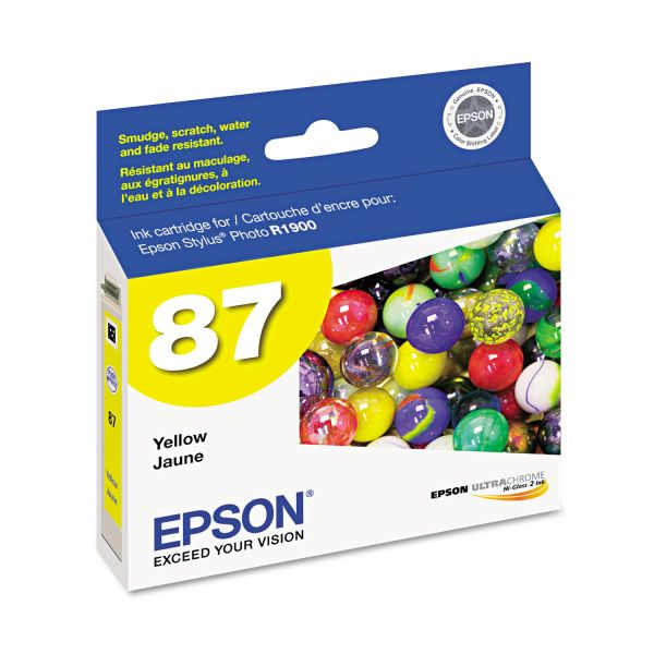 Epson 87 Yellow Ink Cartridge