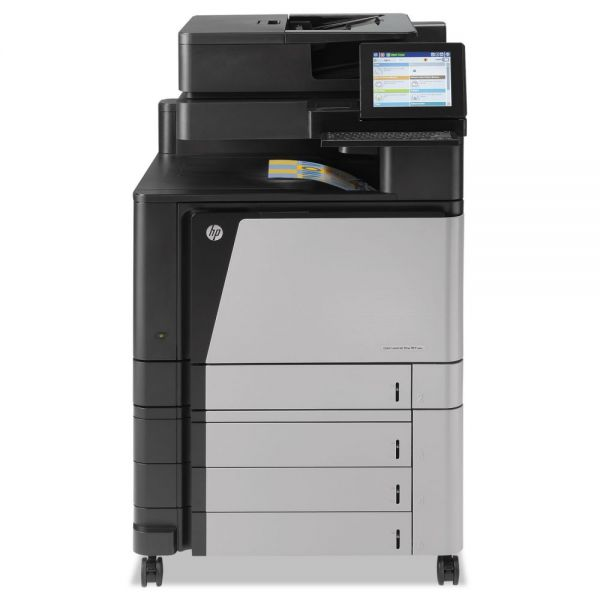 HP Color LaserJet Enterprise flow M880z+ Wireless MFP, Copy/Fax/Print/Scan
