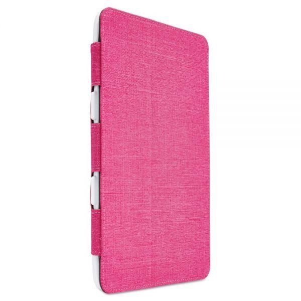 Case Logic SnapView Folio for iPad mini, 5 5/8 x 3/4 x 8 1/8, Pink